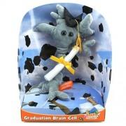 Giant Microbes Graduation Brain Cell Musical Doll
