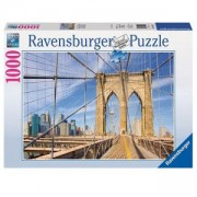 Пъзел от 1000 части - Brooklyn Bridge View, Ravensburger, 702138
