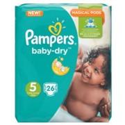 Pampers Baby-Dry Luiers - Maat 5 26 stuks