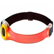Joggy Safe Expert Armband Met LED - Male - Rood - Grootte: One Size