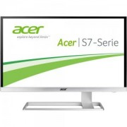 Монитор Acer S277HKwmidpp, 27' Wide IPS LED, 4ms,100M:1 DCR,300 cd/m2,3840x2160 UltraHD,DVI,HDMI,DisplayPort,DTS Sound,Zero Frame - UM.HS7EE.001