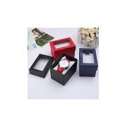 ELECTROPRIME Wrist Watch Boxes Bracelet Case Bangle Jewelry Storage Box Holder Present Gift