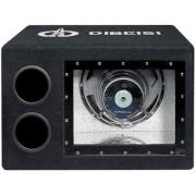 Pachet Subwoofer + Amplificator Dibeisi N1015A, Bass-Reflex, 25 cm, 240W RMS