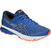 Asics GT-1000 6 Running Shoes For Men(Blue, Orange)