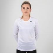 Adidas Training-D2M Damen L/S T-Shirt Weiß