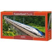 Puzzle panoramic Tren de mare viteza, 600 piese