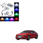 Auto Addict Car 12 LED RGB Roof Light with IR Remote Car Fancy Lights For Audi S5