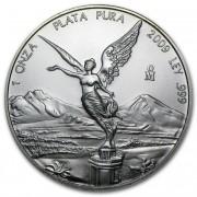 Stříbrná mince Mexico Libertad 1 oz 2009