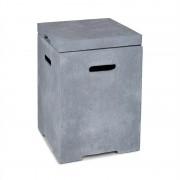Blumfeldt Gas Garage, gázpalack tároló doboz, max. 8 kg-ig, világosszürke (GDMB9-Gas Garage-2)