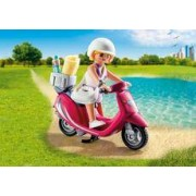 Playmobil Mujer con Scooter