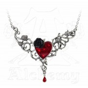 ALCHEMY GOTHIC nyaklánc - The Blood Rose Hearth - P721