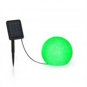Blumfeldt Shinestone Solar 20, gömblámpa, napelem, Ø 20 cm, RGB-LED, IP68, akkumulátor (LEU13-Shinestone-20)