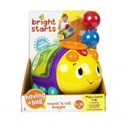 Bright Starts Count N Roll Buggie Toy