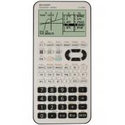 Calculator grafic, 827 functiuni, SHARP EL-9950L - alb/negru