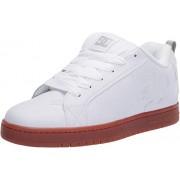 DC Court Graffik Zapatos de Skate para Hombre, Blanco, 10.5 M US