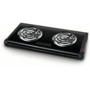 Black & Decker 2VDYOMX6KHYX Radiant Cooktop(Black, Jog Dial)