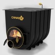 Печка на дърва Canada 02 за огрев и готвене със стъкло