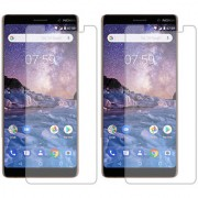 Deltakart Tempered Glass for Nokia 7 Plus - Pack of 2