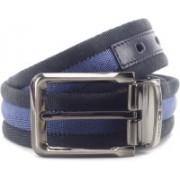 Tommy Hilfiger Men Black, Beige, Blue Reversible Belt