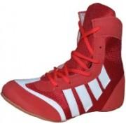 Port Pro-Combbat Boxing & Wrestling Shoes For Men(Red)