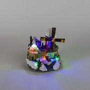 Kaemingk Kersthuisje Windmolen LED multikleur