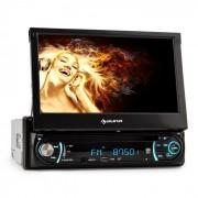 Auna MVD-330 Autoradio Bluetooth con USB SD MP3 AUX y pantalla táctil de 18 cm (7'')