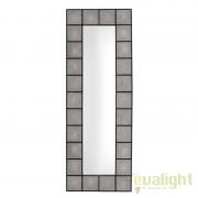 Oglinda decorativa Shagreen negru/ sagrin dim.80X220cm 109588 HZ