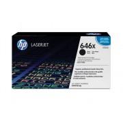 HP Cartucho de tóner original LaserJet HP 646X de alta capacidad negro para Laserjet Enterprise serie CM4540mfp