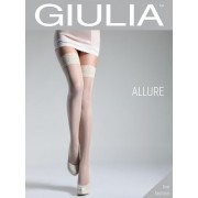 GIULIA hold ups Polka punktmönster ALLURE 20Glace 1/2-XS/S