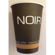 Pahare carton Noir 200 ml