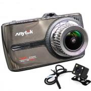 Camera auto DVR iUni Dash 66G, Touchscreen, Dual Cam, Full HD, WDR, 170 grade, by Anytek