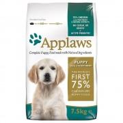 2x15kg Applaws Cachorros deraças Pequena ou médiasFrango ração
