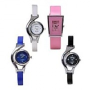 Glory 4 combo pack watches analog for women By 7Star