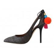 Dolce & Gabbana magassarkú cipő szürke