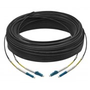 60M Duplex Single Mode UPC LC-LC Fiber Optic Cable Fiber Patch Cord Outdoor Drop Cable