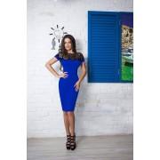 Nancy Dress-albastra