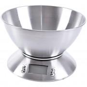 Waga kuchenna elektroniczna 5kg z miską stalowa