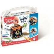 Pénzpersely készítő kreatív készségfejlesztő készlet, színezhető, MAPED CREATIV, Mini Box (IMAC907013)