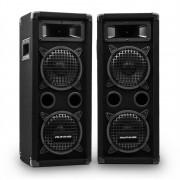 """Auna Pro PW-65х22 MKII, комплект пасивни PA високоговорители, 6,5""""субуфер, 300 W RMS / 600 W макс. (PW-65x22 MKII)"""