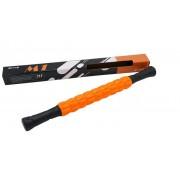 Roller masaj stick cu 9 role portocalii (cod R124-1)