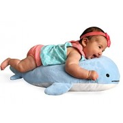 Blow the Blue Beluga Whale Pillow Plush Large Stuffed Animal Shark for Children 2 Feet Long by Buddy Plush