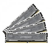 Memorie Crucial Ballistix Sport LT 16GB (4x4GB) DDR4 2400MHz 1.2V CL16 Quad Channel Kit, BLS4C4G4D240FSB