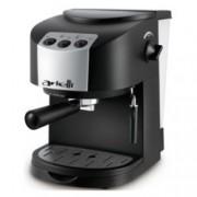 Ръчна еспресо машина Arielli KM-130BS, 1050W, 1.5 л. воден резервоар, 15 бара налягане, черна