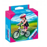 Playmobil 4743 Woman Special: with Dirt Bike