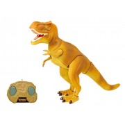 Dino Planet Infrared Remote Control Tyrannosaurus Rex R/C Walking T-Rex Dinosaur Toy with Moving Head, Lights and Sounds