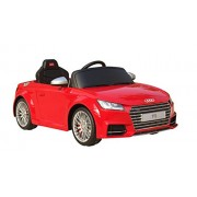 Swagspin Licensed Audi Tts Ride On Remote Control Car For Kids (Red)