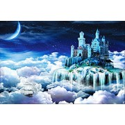 Ingooood 1000 pieces Wooden Puzzle Dream Castle Eiffel Tower Beautiful Town Educated Toy Jigsaw Puzzles