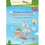 Povesti cu unicorni - editie bilingva, contine un joc domino pentru copii/Werner Farbers Michael Bayer
