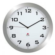Orologio da parete Big-Big Clock Alba - grigio metallizzato - Ø 38 cm - HORBIG - 149182 - Alba