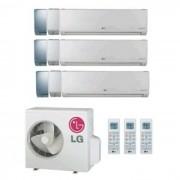 LG Climatizzatore Condizionatore Lg Trial Split Inverter Art Cool Mirror 9+9+9 Con Mu3m19